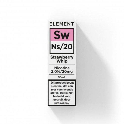 Element nic salts strawberry whip