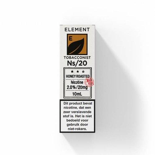 Element nic salts honey roasted tobacco