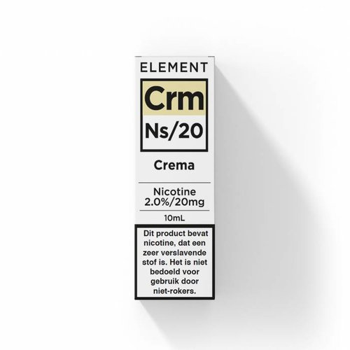 Element nic salts crema