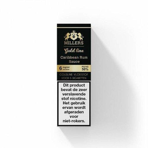 millers goldline Millers Caribbean rum sauce  100% VG