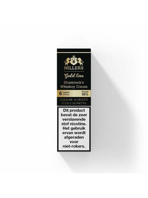 millers goldline Millers shamrock's whiskey cream  100% VG