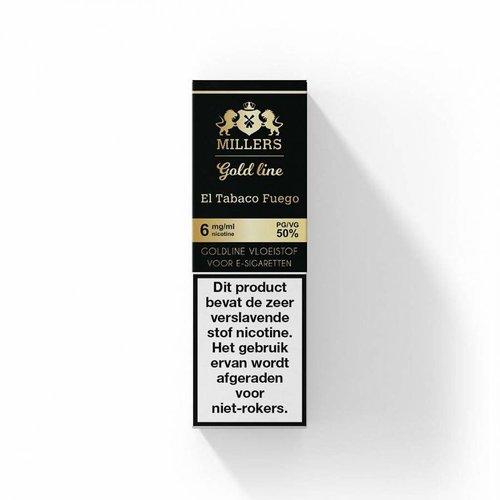 millers goldline millers el tabaco fuego 100% VG