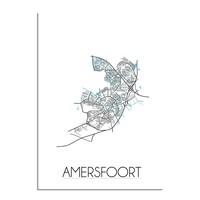 Amersfoort Plattegrond poster