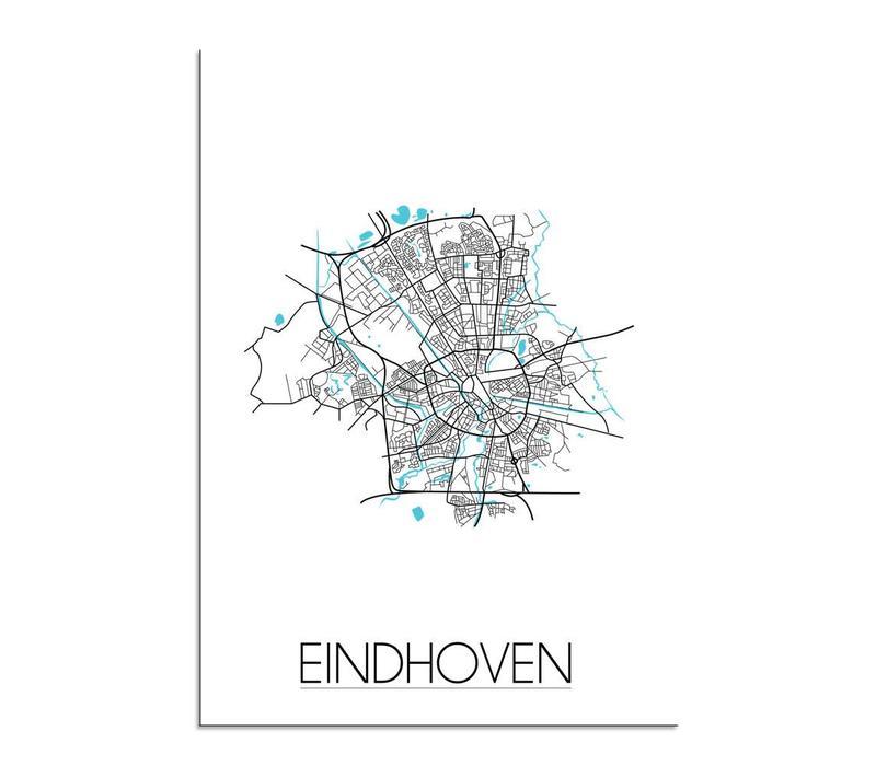 Eindhoven Plattegrond poster
