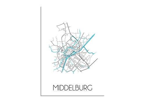 DesignClaud Middelburg Stadtplan