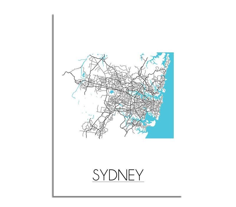 Sydney Plattegrond poster