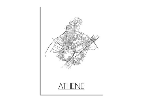 DesignClaud Athene Stadtplan