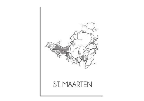 DesignClaud St. Maarten Stadtplan