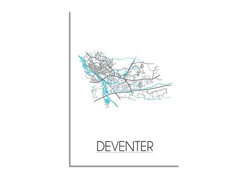 DesignClaud Deventer Plattegrond poster
