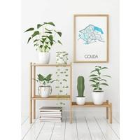 Gouda Plattegrond poster