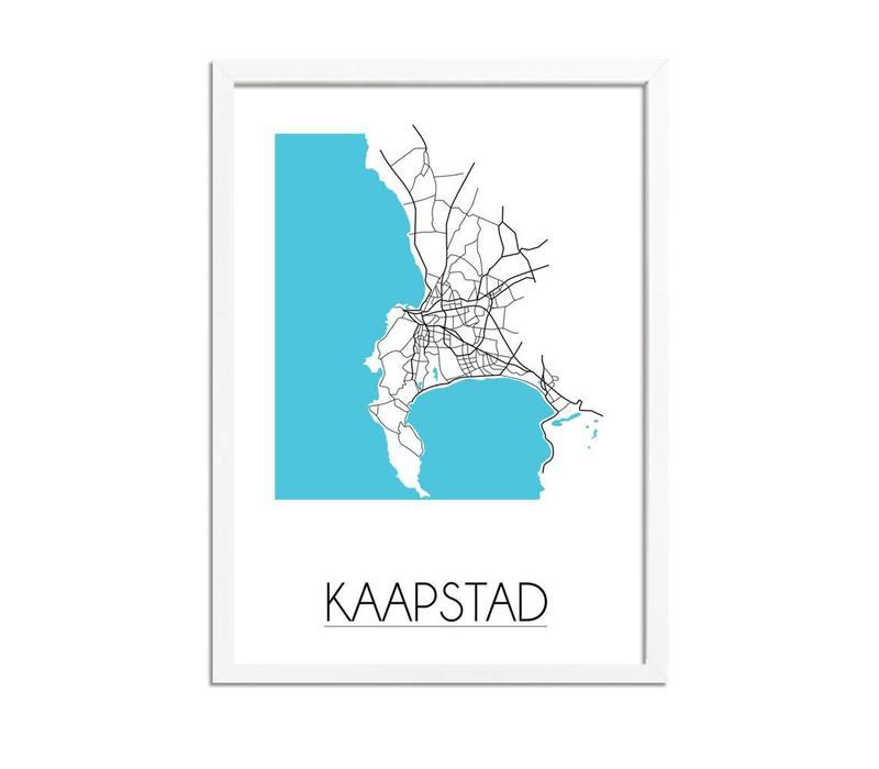 Kaapstad Plattegrond poster