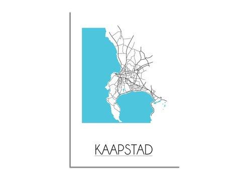 DesignClaud Kaapstad Plattegrond poster