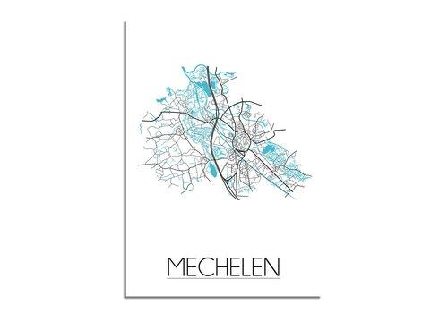 DesignClaud Mechelen Stadtplan