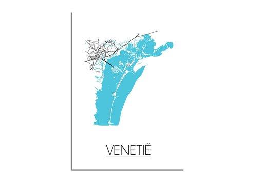 DesignClaud Venetië Stadtplan