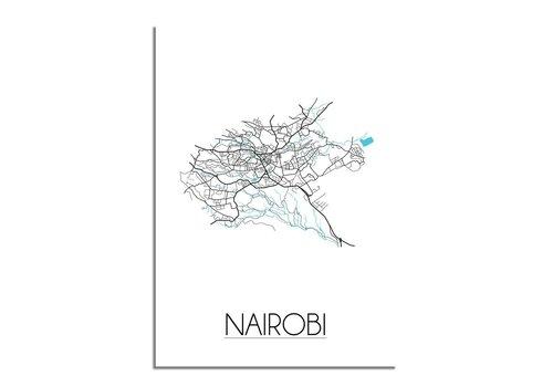 DesignClaud Nairobi Stadtplan