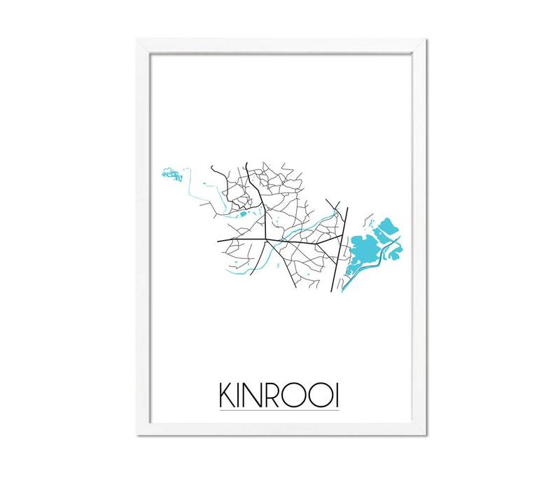 Kinrooi Plattegrond poster
