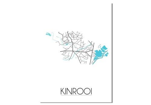 DesignClaud Kinrooi Plattegrond poster
