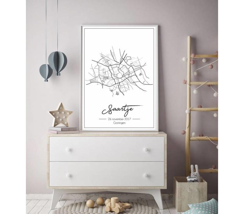 Geburtsort Grau - Stadtplan - Geburtsort