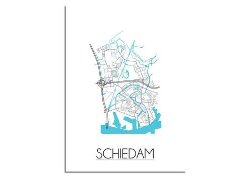 DesignClaud Schiedam Stadtplan