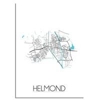 Helmond Plattegrond poster