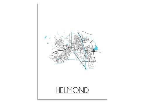 DesignClaud Helmond Plattegrond poster