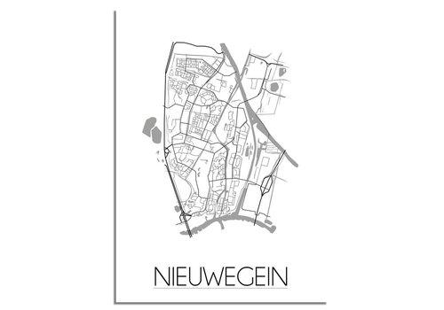 DesignClaud Nieuwegein Plattegrond poster