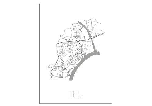 DesignClaud Tiel Plattegrond poster
