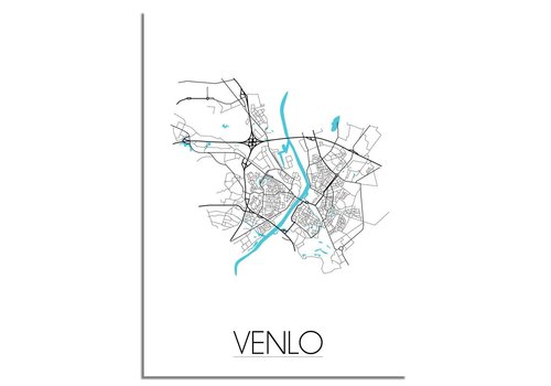 DesignClaud Venlo Plattegrond poster