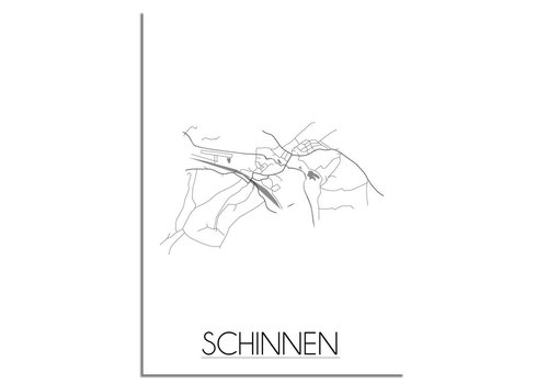 DesignClaud Schinnen Plattegrond poster