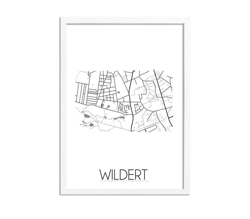 Wildert Plattegrond poster