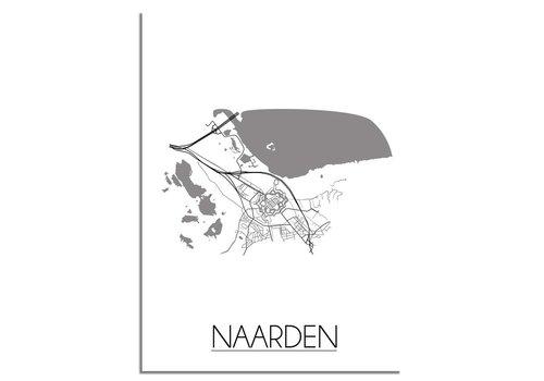 DesignClaud Naarden Plattegrond poster