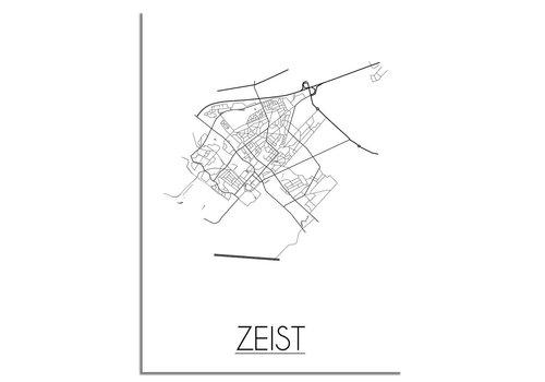 DesignClaud Zeist Plattegrond poster