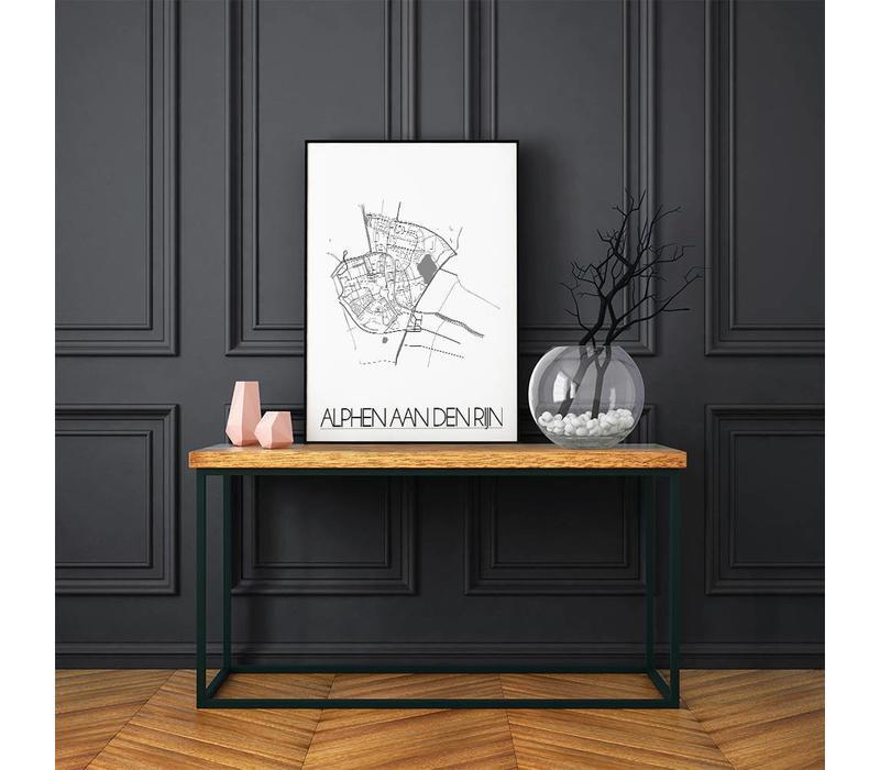 Alphen aan den Rijn Plattegrond poster