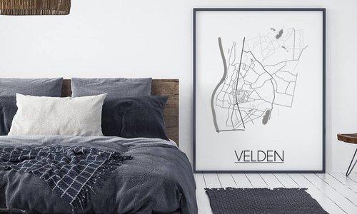 Haal je favoriete stad in huis met stijlvolle Stadskaart posters