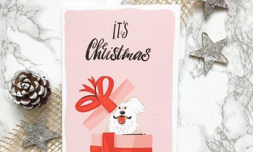 Zeg het met kerstkaarten!