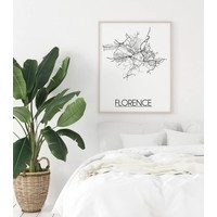 Florence Plattegrond poster