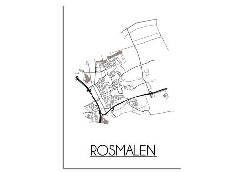 DesignClaud Rosmalen Plattegrond poster