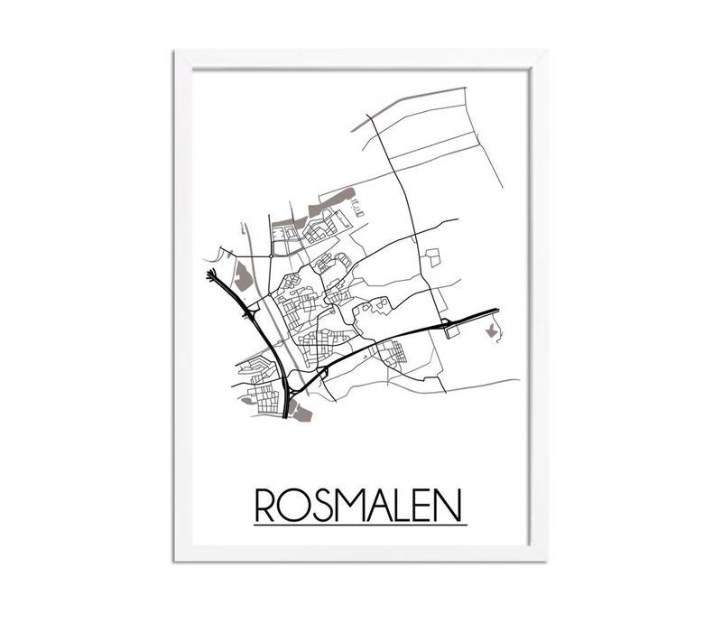 Rosmalen Plattegrond poster