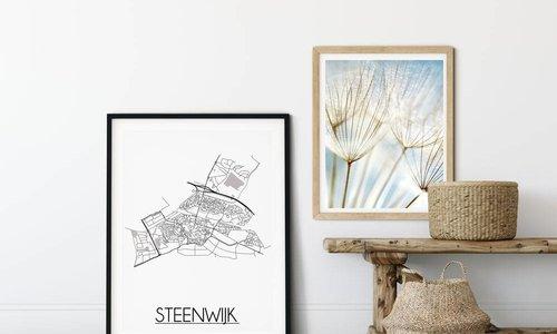 De mooiste stadskaart poster of city map poster: waar vind je die?