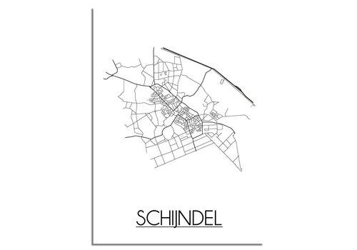 DesignClaud Schijndel Plattegrond poster