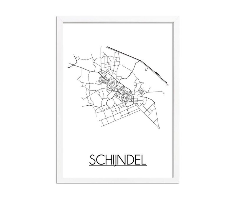 Schijndel Plattegrond poster