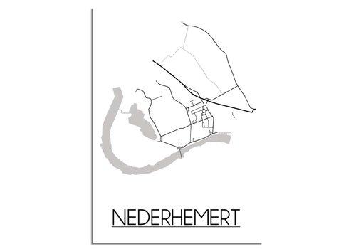 DesignClaud Nederhemert Plattegrond poster