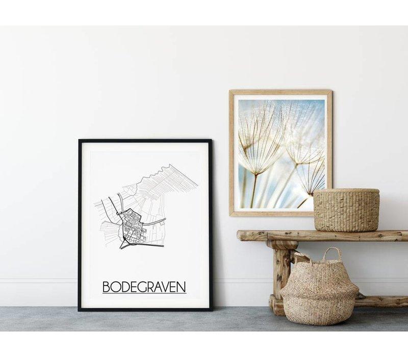 Bodegraven Plattegrond poster