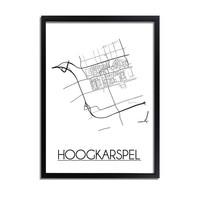 Hoogkarspel Plattegrond poster