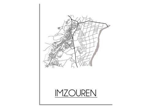DesignClaud Imzouren Stadtplan-poster