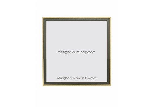 DesignClaud Houten wissellijst - Fotolijst - Groen/Blank