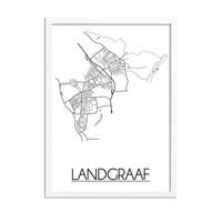 Landgraaf Plattegrond poster