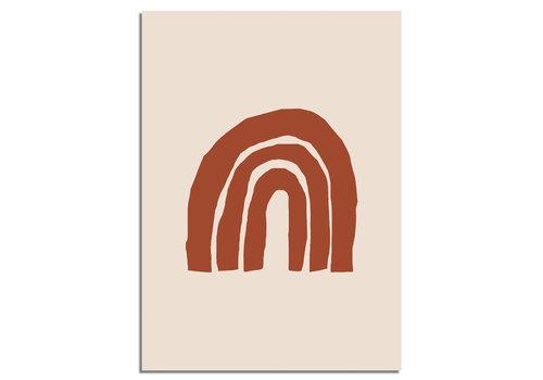 DesignClaud Regenboog Poster