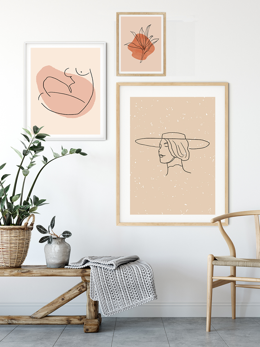 Line-art-kunst-posters