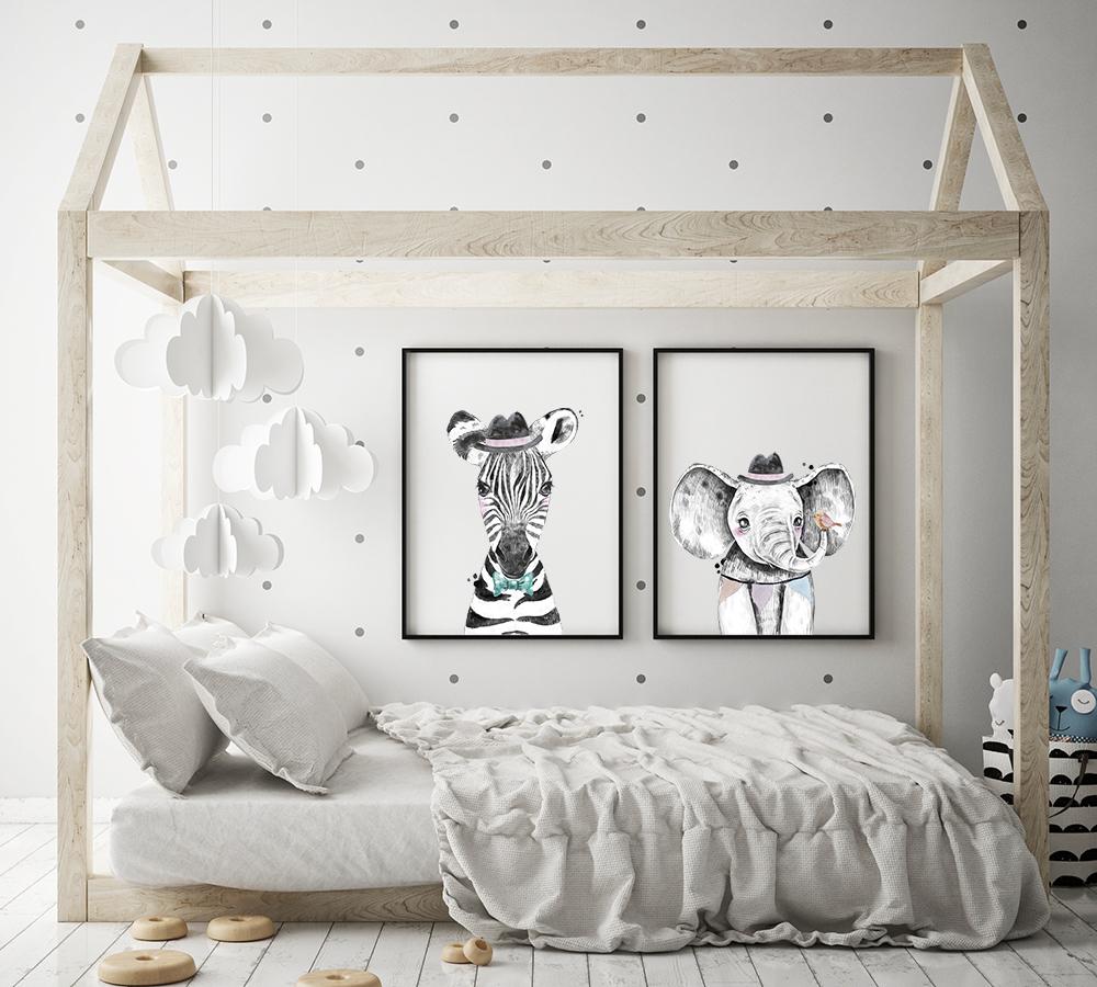 kinderkamer-poster-olifant